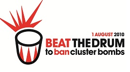 BAN CLUSTER BOMBS!
