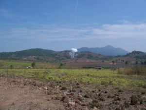 Cluster munitions detonated in Laos