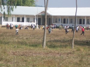 School near clearance area
