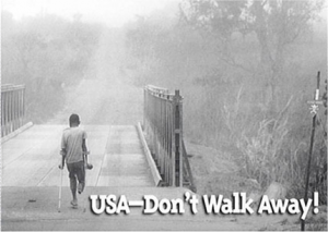 USA...Don't Walk Away!