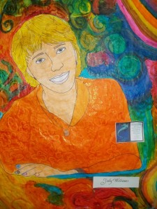 PORTRAIT OF JODY WILLIAMS BY PSALM STUDENTS