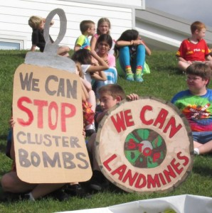 WE CAN STOP LANDMINES AND CLUSTER BOMBS! PSALM