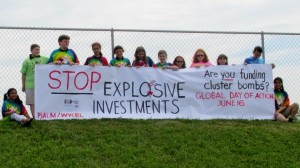 PSALM students participate in PAX Cluster Bomb Divestment Campaign